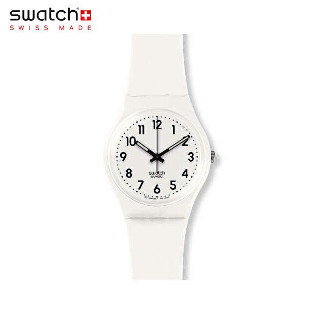 【公式ストア】Swatch スウォッチ JUST WHITE SOFT ジャスト・ホワイト・ソフト GW151OOriginals (オリジナルズ) Gent (ジェント) 【送料無料】メンズ/レディース/腕時計/人気/定番/プレゼント