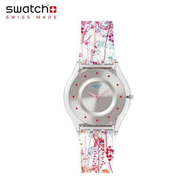 【公式ストア】Swatch スウォッチ JARDIN FLEURI ジョルダン・フルーリ SFE102Skin (スキン) Skin Classic (スキンクラシック) 【送料無料】レディース 腕時計 人気 定番 プレゼント
