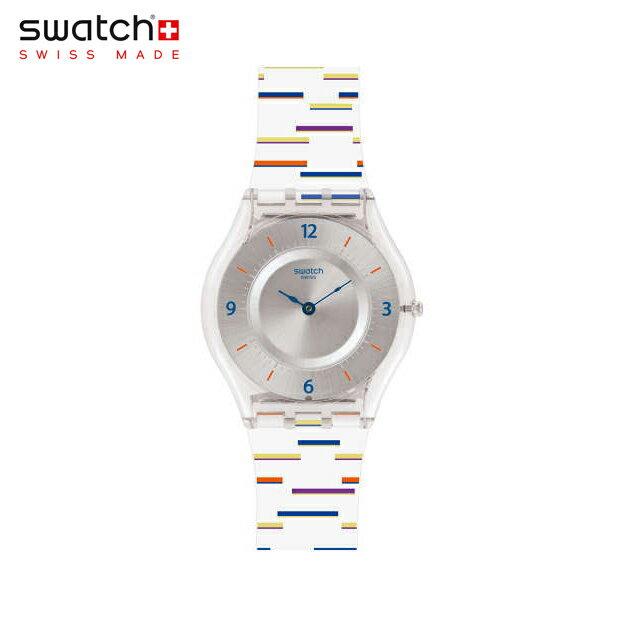 【公式ストア】Swatch スウォッチ THIN LINER シン・ライナー SFE108Skin (スキン) Skin Classic (スキンクラシック) 【送料無料】メンズ レディース 腕時計 人気 定番 プレゼント