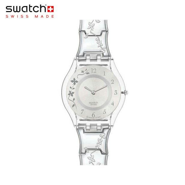 【公式ストア】Swatch スウォッチ CLIMBER FLOWERY クライマー・フラワリー SFK300GSkin (スキン) Skin Classic (スキンクラシック) 【送料無料】レディース 腕時計 人気 定番 プレゼント