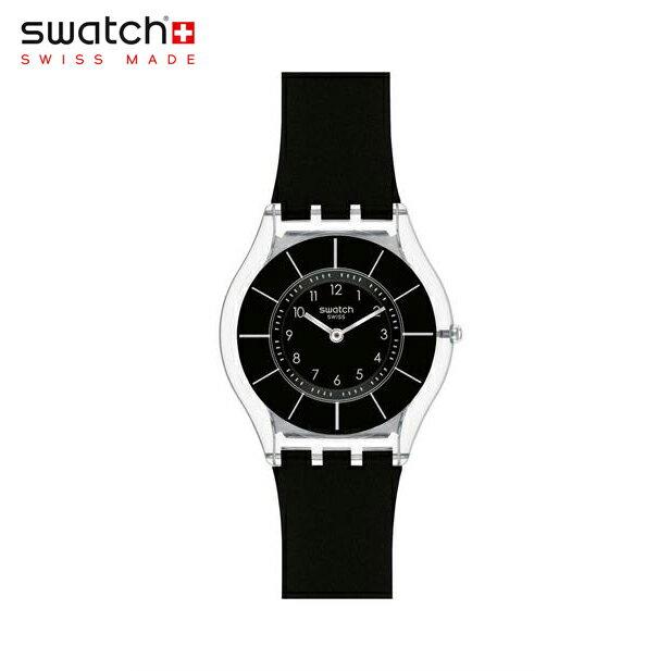 【公式ストア】Swatch スウォッチ BLACK CLASSINESS ブラック・クラシネス SFK361Skin (スキン) Skin Classic (スキンクラシック) 【送料無料】レディース 腕時計 人気 定番 プレゼント