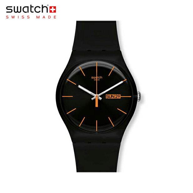 【公式ストア】Swatch スウォッチ DARK REBEL ダーク・レベル SUOB704Originals (オリジナルズ) New Gent (ニュージェント) 【送料無料】メンズ 腕時計 人気 定番 プレゼント