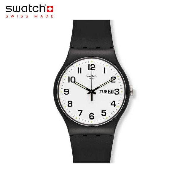 【公式ストア】Swatch スウォッチ TWICE AGAIN トゥワイス・アゲイン SUOB705Originals (オリジナルズ) New Gent (ニュージェント) 【送料無料】メンズ/腕時計/人気/定番/プレゼント