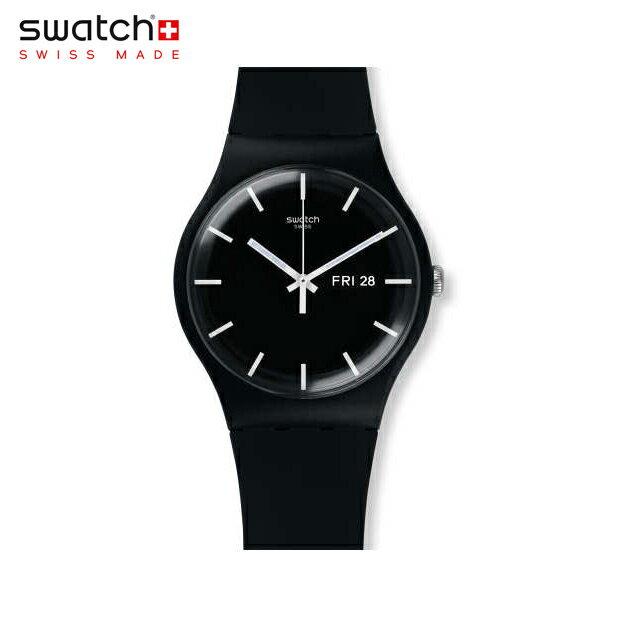 【公式ストア】Swatch スウォッチ MONO BLACK モノ・ブラック SUOB720Originals (オリジナルズ) New Gent (ニュージェント) 【送料無料】メンズ 腕時計 人気 定番 プレゼント