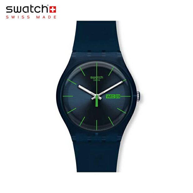 【公式ストア】Swatch スウォッチ BLUE REBEL ブルー・レベル SUON700Originals (オリジナルズ) New Gent (ニュージェント) 【送料無料】メンズ 腕時計 人気 定番 プレゼント