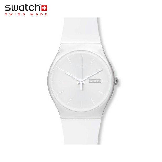 【公式ストア】Swatch スウォッチ WHITE REBEL ホワイト・レベル SUOW701Originals (オリジナルズ) New Gent (ニュージェント) 【送料無料】メンズ 腕時計 人気 定番 プレゼント