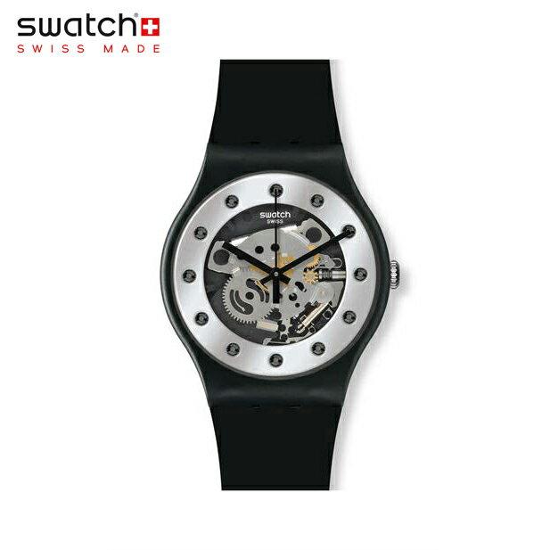 【公式ストア】Swatch スウォッチ SILVER GLAM シルバー・グラム SUOZ147Originals (オリジナルズ) New Gent (ニュージェント) 【送料無料】レディース/腕時計/人気/定番/プレゼント
