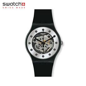 【公式ストア】Swatch スウォッチ SILVER GLAM シルバー・グラム SUOZ147Originals (オリジナルズ) New Gent (ニュージェント) 【送料無料】レディース 腕時計 人気 定番 プレゼント
