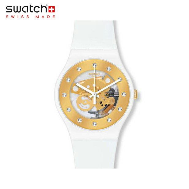 【公式ストア】Swatch スウォッチ SUNRAY GLAM サンレイ・グラム SUOZ148Originals (オリジナルズ) New Gent (ニュージェント) 【送料無料】レディース/腕時計/人気/定番/プレゼント