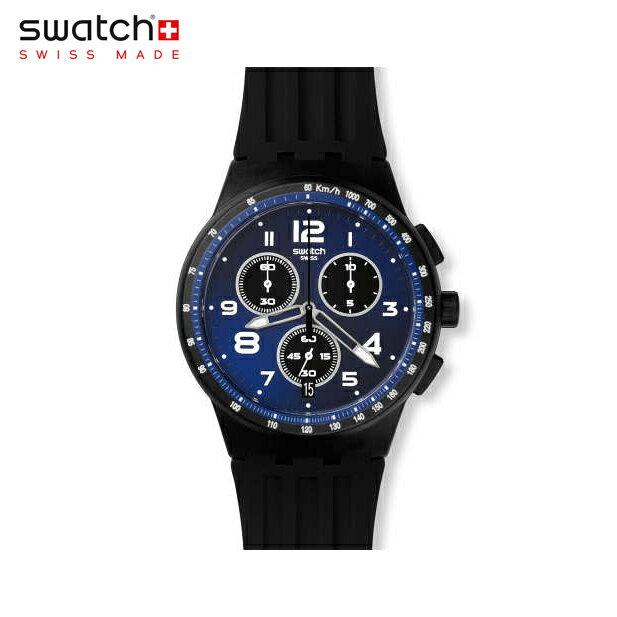 【公式ストア】Swatch スウォッチ NITESPEED ナイトスピード SUSB402Originals (オリジナルズ) New Chrono Plastic (ニュークロノプラスチック) 【送料無料】メンズ 腕時計 人気 定番 プレゼント
