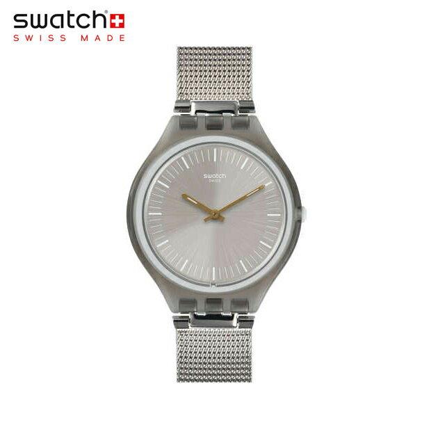【公式ストア】Swatch スウォッチ SKINMESH スキンメッシュ SVOM100MSkin (スキン) Skin Regular (スキンレギュラー) 【送料無料】レディース 腕時計 人気 定番 プレゼント