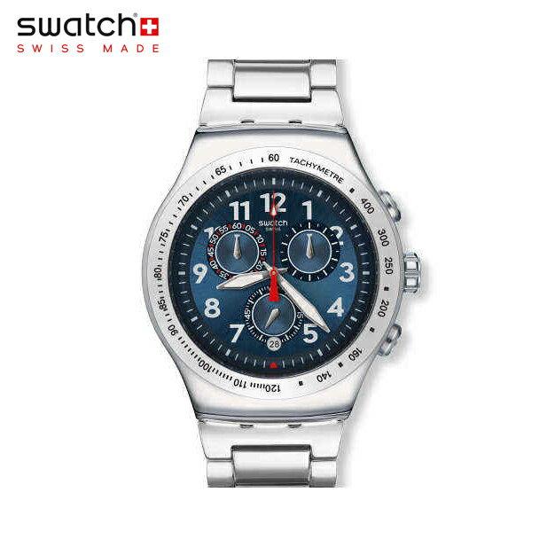 【公式ストア】Swatch スウォッチ BLUE MAXIMUS ブルー・マキシマム YOS455GIrony (アイロニー) Irony the Chrono (アイロニーザクロノ) 【送料無料】メンズ 腕時計 人気 定番 プレゼント 父の日 Father's Day お父さん パパ