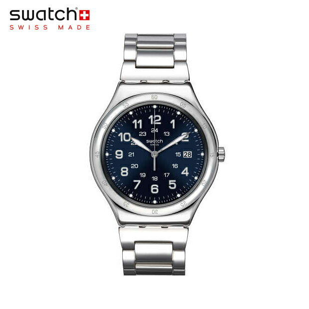 【公式ストア】Swatch スウォッチ BLUE BOAT ブルー・ボート YWS420GIrony (アイロニー) Irony Big Classic (アイロニービッグクラシック) 【送料無料】メンズ 腕時計 人気 定番 プレゼント