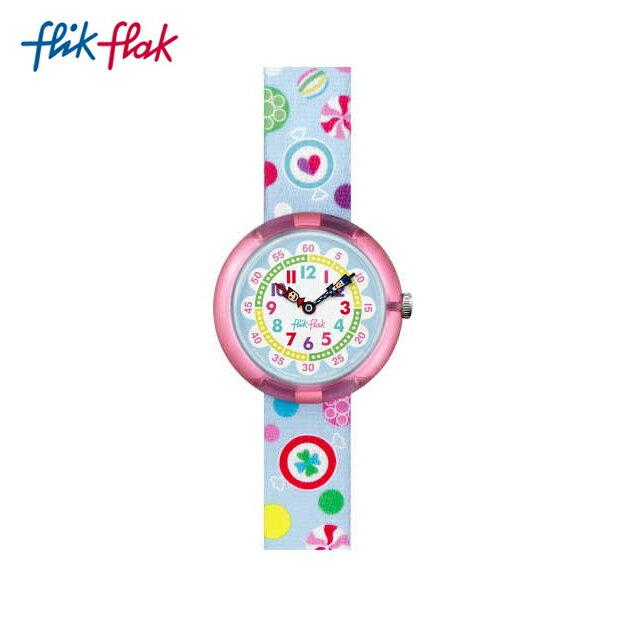 【公式ストア】Flik Flak フリックフラック SUGAR BUNCHY シュガー・バッチFBNP064Swatch スウォッチ Story Time (ストーリータイム) 【送料無料】キッズ/ガールズ/腕時計/人気/定番/プレゼント