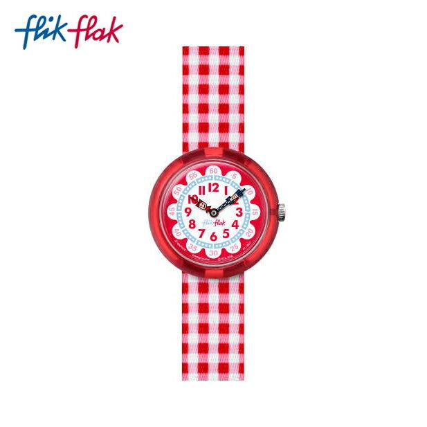 【公式ストア】Flik Flak フリックフラック GINGHAM ギンガム FBNP078Swatch スウォッチ Story Time (ストーリータイム) 【送料無料】キッズ/ガールズ/腕時計/人気/定番/プレゼント