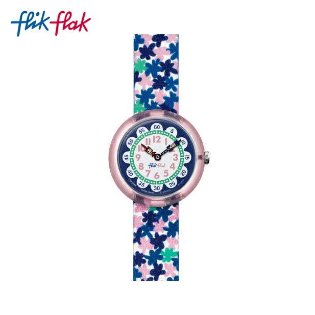 【公式ストア】Flik Flak フリックフラック LONDON FLOWER ロンドン・フラワー FBNP080Swatch スウォッチ Story Time (ストーリータイム) 【送料無料】キッズ/ガールズ/腕時計/人気/定番/プレゼント