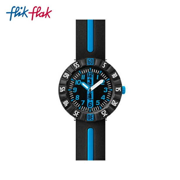 【公式ストア】Flik Flak フリックフラック BLUE AHEAD ブルー・アヘッド FCSP031Swatch スウォッチ Power Time 7+ (パワータイム7+) 【送料無料】キッズ ボーイズ 腕時計 人気 定番 プレゼント