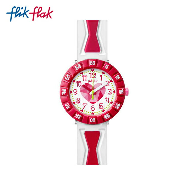 【公式ストア】Flik Flak フリックフラック GET IT IN PINK ゲット・イット・イン・ピンク FCSP036Swatch スウォッチ Power Time 7+ (パワータイム7+) 【送料無料】キッズ/ガールズ/腕時計/人気/定番/プレゼント