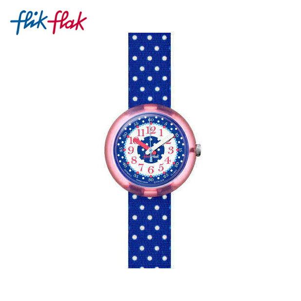 【公式ストア】Flik Flak フリックフラック BLUE CRUMBLE ブルー・クランブル FPNP013Swatch スウォッチ Power Time 5+ (パワータイム5+) 【送料無料】キッズ/ガールズ/腕時計/人気/定番/プレゼント