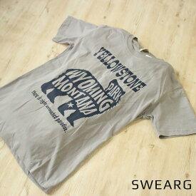 [2枚目半額対象] アウトドアキャンプ柄 プリントTシャツ オシャレ Tシャツ メンズ 綿100% 白 プリント アウトドア キャンプ 山 かっこいい 半袖 ホワイト グレー モーブ 夏 ルームウェア シンプル カジュアル おしゃれ