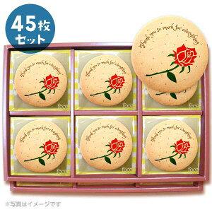 メッセージクッキーThankyou so much for everything お礼 プチギフト 45枚セット