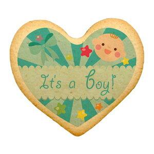 メッセージクッキー It's a Boy 02ハート お祝い プチギフト