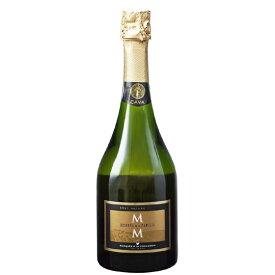 お酒 お中元 ギフト カバ・レセルバ・デ・ラ・ファミリア・ブルット・ナトゥレ/マス・デ・モニストロル 白 750ml 12本 スペイン カバ スパークリングワイン ヴィンテージ管理しておりません、変わる場合があります プレゼント ケース販売 送料無料
