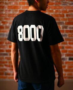 お歳暮 ギフト 陸奥八仙 むつはっせん 8000Tシャツ 黒色 LLサイズ 青森県 八戸酒造 Tシャツ コンビニ受取対応商品 はこぽす対応商品 プレゼント