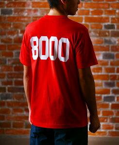お歳暮 ギフト 陸奥八仙 むつはっせん 8000Tシャツ 赤色 Mサイズ 青森県 八戸酒造 Tシャツ コンビニ受取対応商品 はこぽす対応商品 プレゼント