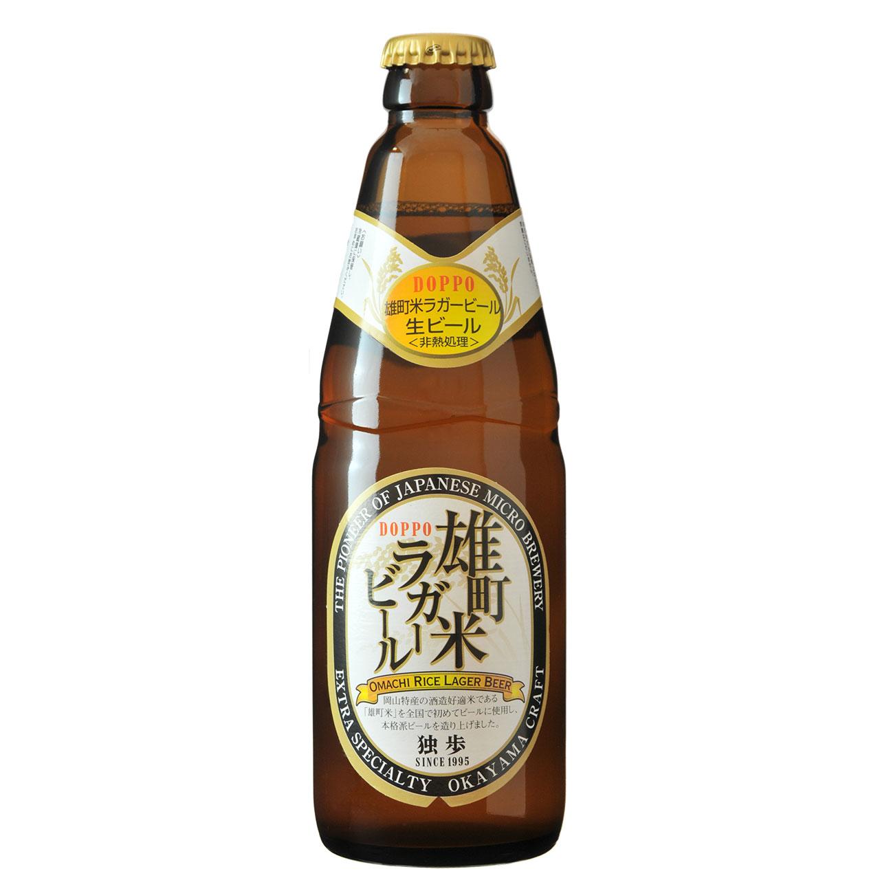 【お歳暮 ギフト】独歩 雄町米ラガー 330ml 24本 岡山県 宮下酒造 クラフトビール ケース販売 クール便