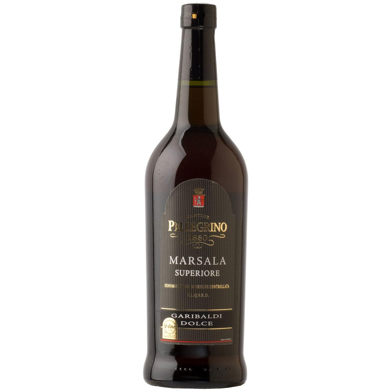 【お年賀 ギフト】マルサラ・スーペリオーレ ガリバルディ・ドルチェ <甘口> イタリア ペッレグリーノ コンビニ受取対応商品 ヴィンテージ管理しておりません、変わる場合があります