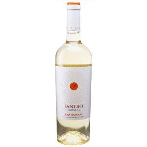 お酒 ホワイトデー ギフト プレゼント ファンティーニ シャルドネ / ファルネーゼ 白 750ml 12本 イタリア アブルッツォ 白ワイン コンビニ受取対応商品 ヴィンテージ管理しておりません、変