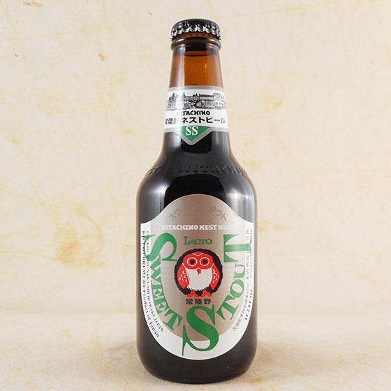 【お歳暮 ギフト】常陸野ネストビール スイートスタウト 330ml×24本 茨城県 木内酒造 ビール 国産クラフトビール・地ビール ケース販売 楽ギフ_のし
