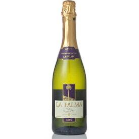 お歳暮 ギフト ラ・パルマ シャルドネ・ブリュット 白 750ml 6本 チリ ヴィーニャ・ラ・ローサ スパークリングワイン コンビニ受取対応商品 ヴィンテージ管理しておりません、変わる場合があります ラッキーシール対応 ケース販売