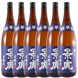 お酒 お歳暮 ギフト 越乃景虎 こしのかげとら 本醸造 超辛口 1800ml 6本 新潟県 諸橋酒造 日本酒 ケース販売 あす楽 プレゼント