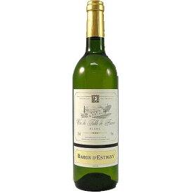 お酒 お歳暮 ギフト バロン・デスティニー 白ワイン 750ml BAROND'ESTIGNY Blanc フランス ラングドック・ルーション 白ワイン コンビニ受取対応商品 ヴィンテージ管理しておりません、変わる場合があります プレゼント