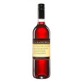 お酒 お中元 ギフト プレゼント ラ・サングリア / ボデガス・アルスピーデ 赤 甘口 果実酒 750ml 12本 スペイン ラ・マンチャ 赤ワイン コンビニ受取対応商品 ヴィンテージ管理しておりません、変わる場合があります ケース販売