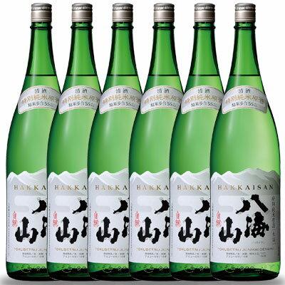 八海山(はっかいさん) 特別純米原酒 1800ml 1.8L ×6本 一升瓶 新潟県 八海山 日本酒 クール便 あす楽 ケース販売 送料無料 代引き手数料無料