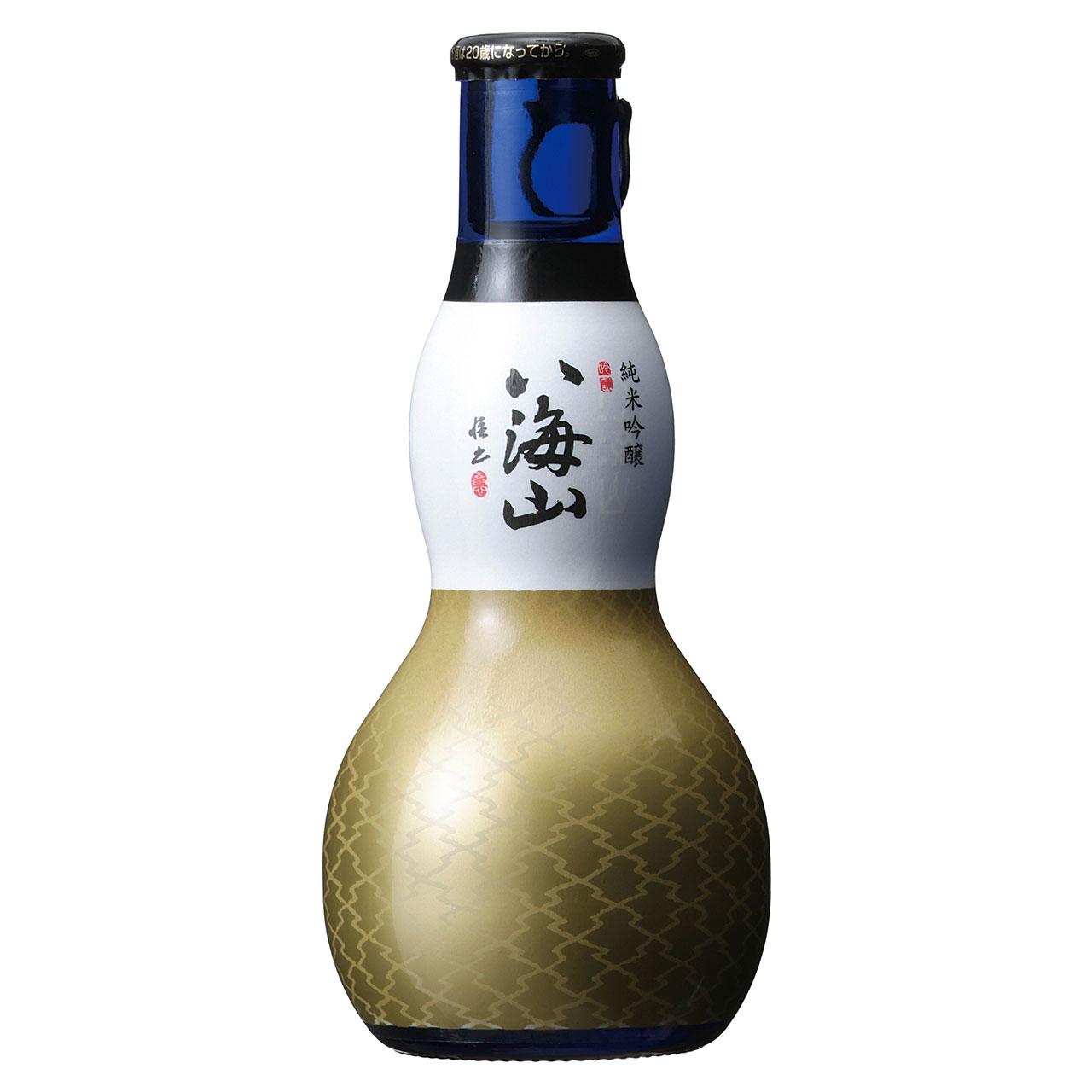 【お年賀 ギフト】八海山(はっかいさん) 純米吟醸 180ml ひょうたん瓶 ケース販売12本入 新潟県 八海山 日本酒