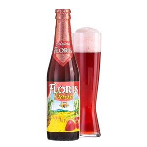 お年賀 ギフト フローリス ストロベリー 330ml 24本 ベルギービール クラフトビール フルーツビール ケース販売 ラッキーシール対応
