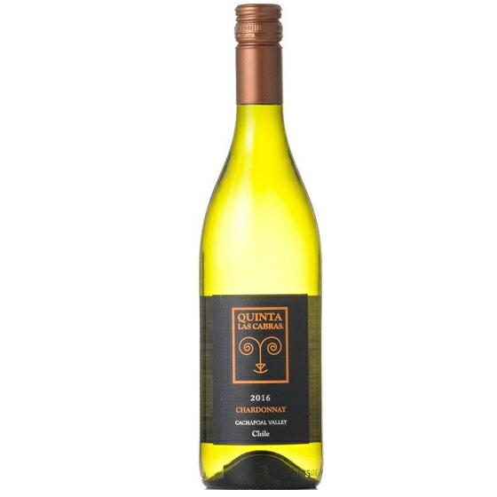【お年賀 ギフト】キンタ・ラス・カブラス シャルドネ 白 750ml チリ ヴィーニャ・ラ・ローサ 白ワイン コンビニ受取対応商品 ヴィンテージ管理しておりません、変わる場合があります