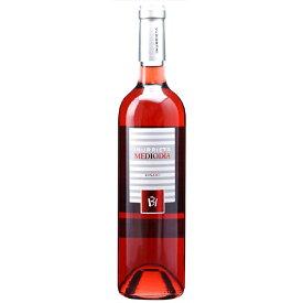 お酒 父の日 ギフト メディオディア ロサード / ボデガ・イヌリエータ ロゼ 750ml 12本 スペイン ナバラ ロゼワイン コンビニ受取対応商品 ヴィンテージ管理しておりません、変わる場合があります プレゼント ケース販売 送料無料