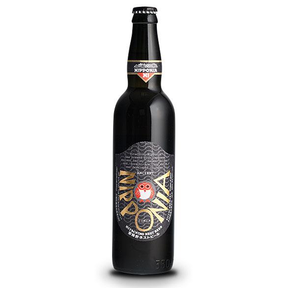 【お歳暮 ギフト】常陸野ネストビール ニッポニア 550ml×12本 茨城県 木内酒造 ビール 国産クラフトビール・地ビール ケース販売 楽ギフ_のし