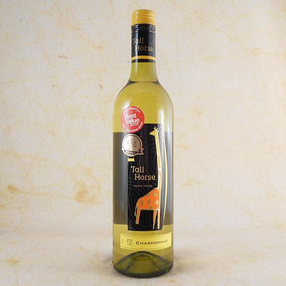 【お年賀 ギフト】トールホースシャルドネ白 750ml 南アフリカ 白ワイン コンビニ受取対応商品 ヴィンテージ管理しておりません、変わる場合があります