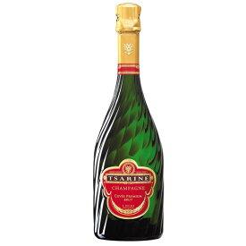 お歳暮 ギフト キュヴェ・プレミアム・ブリュット / ツァリーヌ 白 750ml 6本 フランス シャンパーニュ シャンパン コンビニ受取対応商品 ヴィンテージ管理しておりません、変わる場合があります ラッキーシール対応 ケース販売 送料無料