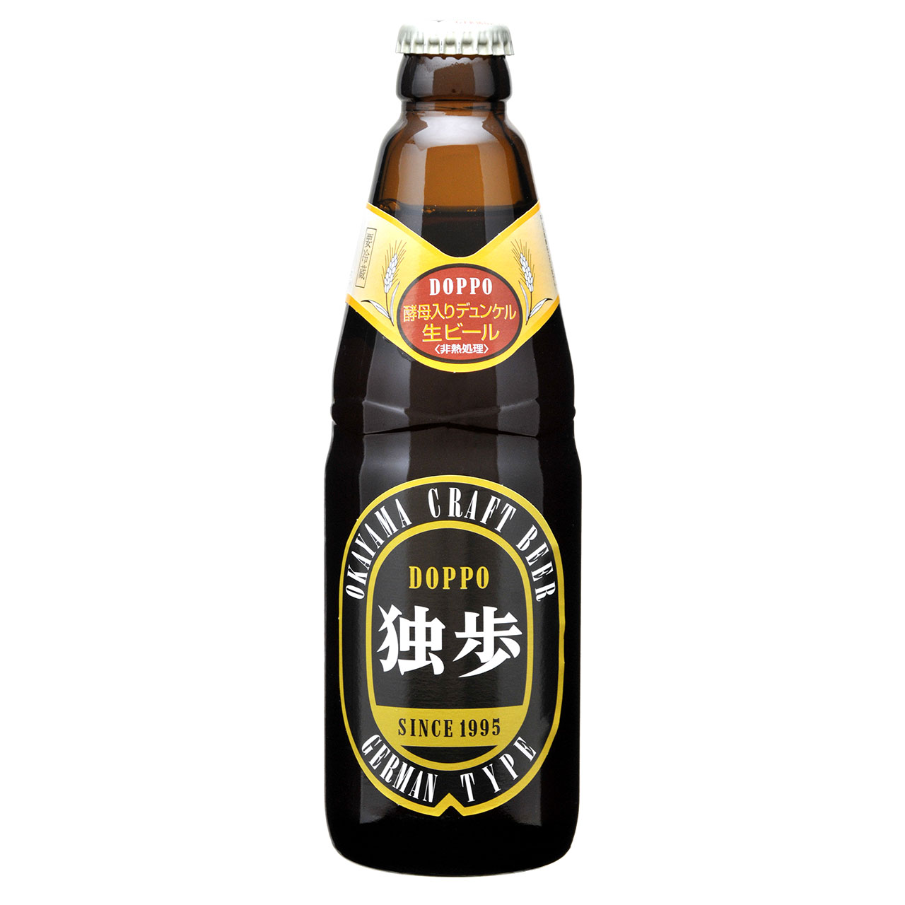 【お歳暮 ギフト】独歩 デュンケル 330ml 24本 岡山県 宮下酒造 クラフトビール ケース販売 クール便