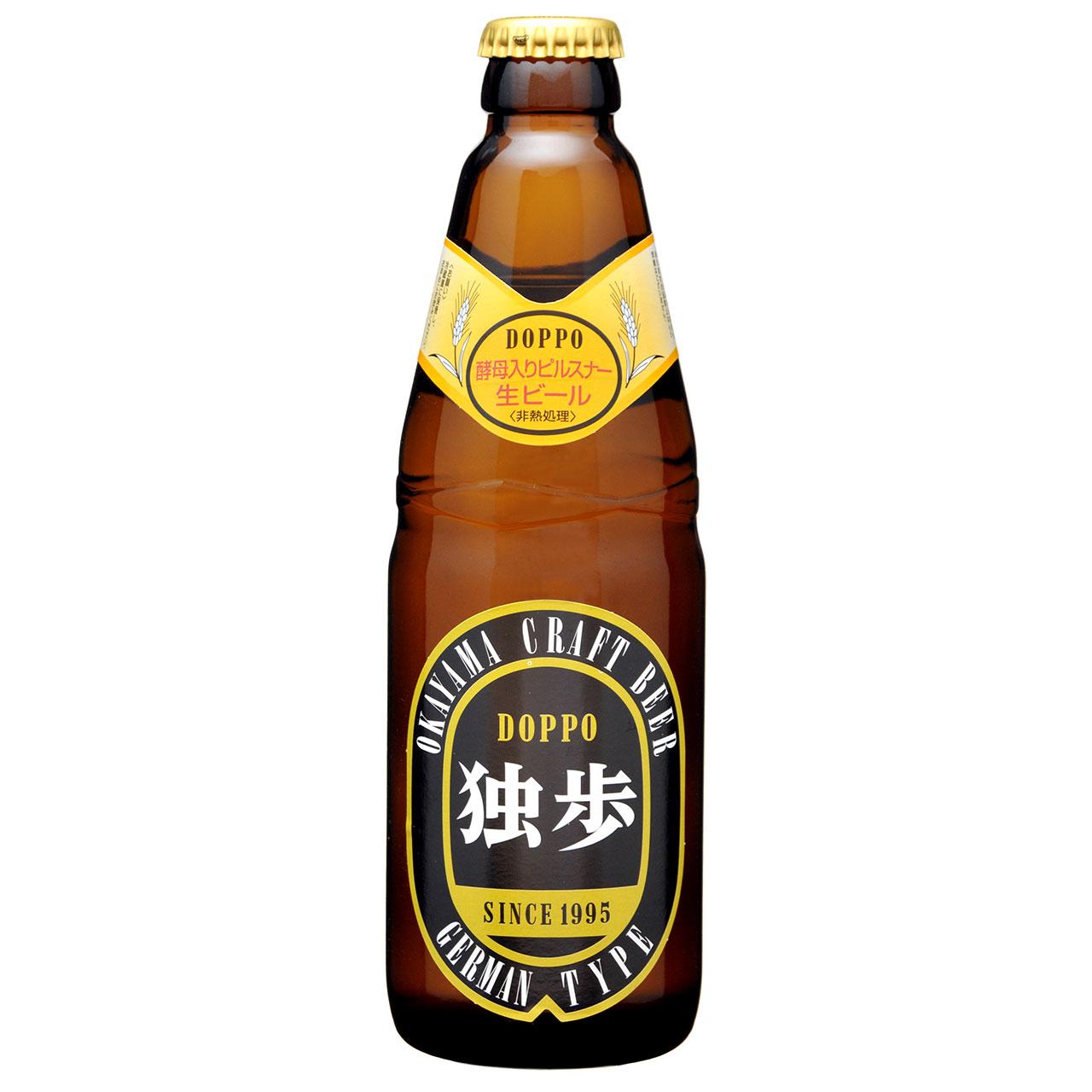 【お歳暮 ギフト】独歩ビール ピルスナー 330ml 24本 岡山県 宮下酒造 クラフトビール ケース販売 クール便