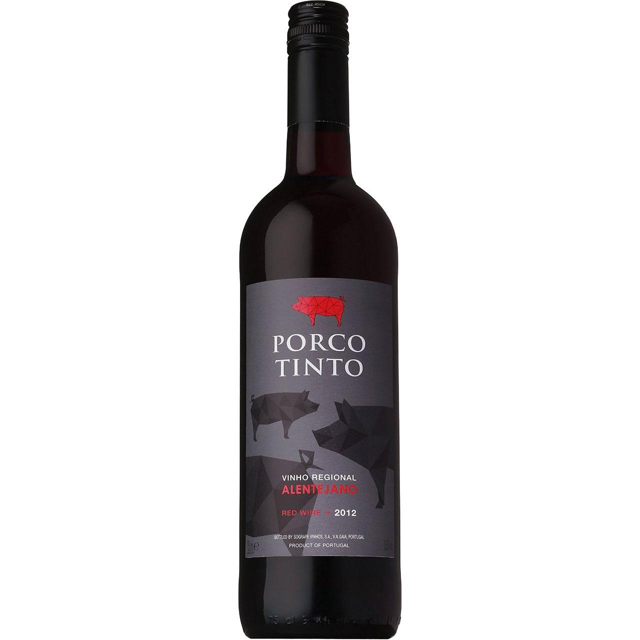 父の日 プレゼント ギフト 肉食系赤ワイン ポルコ ティント 750ml ポルトガル 白ワイン ケース販売 ヴィンテージ管理しておりません、変わる場合があります ラッキーシール対応
