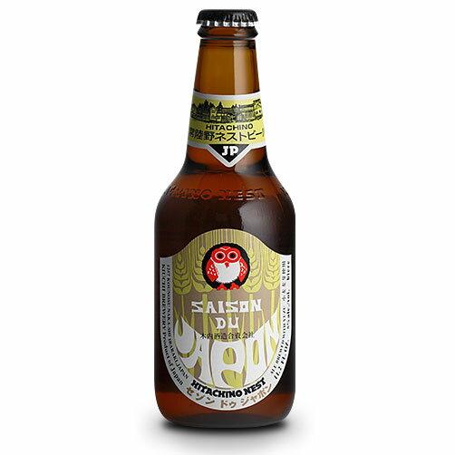 【お歳暮 ギフト】常陸野ネストビール セゾン・ドゥ・ジャポン 330ml×24本 茨城県 木内酒造 ビール 国産クラフトビール・地ビール ケース販売 楽ギフ_のし
