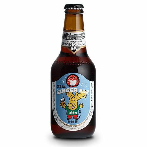 【お歳暮 ギフト】常陸野ネストビール リアルジンジャーエール 330ml×24本 茨城県 木内酒造 ビール 国産クラフトビール・地ビール ケース販売 楽ギフ_のし
